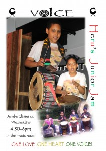 Heru's Junior Jam-Jembe Classes (April2014)IA