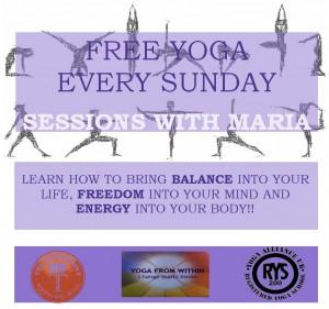 free yoga maria
